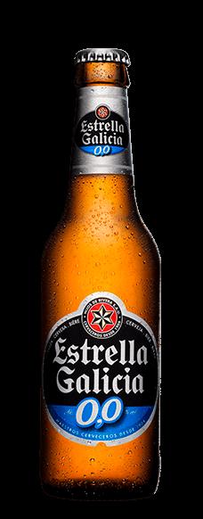 Cerveza Estrella Galicia sin alcohol