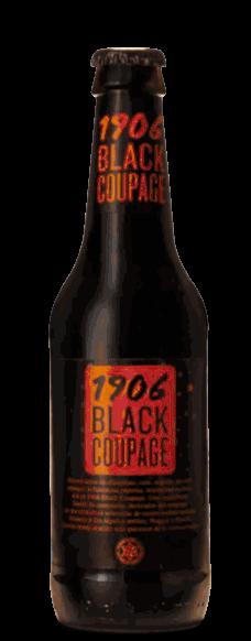 Cerveza Estrella Galicia Black Coupage en botella de 33cl