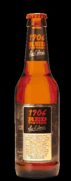 Cerveza Estrella Galicia 1906 Red Vintage en botella de 33cl