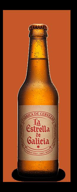Cerveza La Estrella de Galicia