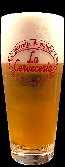 Caña de Cerveza de Bodega Estrella Galicia